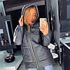 Женская куртка- пуховик «GIV» в расцветках. ОЛ-8-1118, фото 5