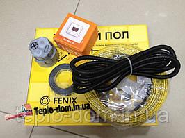 Тонкий обогревательный кабель 4 мм для теплого пола (комплект с цифровым термостатом) 2.2 м.кв.