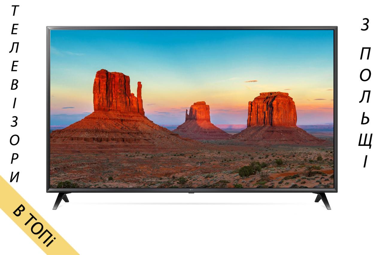 Телевизор LG_49UK6300 Smart TV 4K/Ultra HD 1600Hz T2 S2 из Польши 2018 год