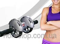 ТОП ВИБІР! Тренажер колесо купить, гимнастический ролик, ролик для пресса, колесо для фитнеса, колесо для пресса, тренажер колесо купити, гімнастичний