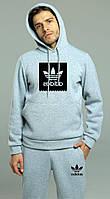 Спортивный костюм зимний Adidas, адидас, фото 1