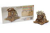 Деревянный механический конструктор Wood Trick Колесо Фортуны.Техника сборки - 3d пазл, фото 1