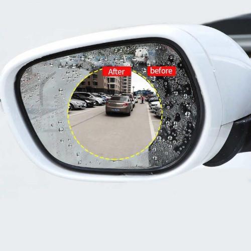 Антизапотивающая пленка с эффектом антидождь наклейка на боковые зеркала автомобиля 2 шт.