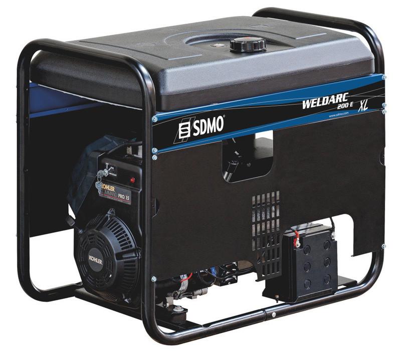 Трехфазный бензиновый сварочный генератор SDMO Weldarc 200 ТE XL C (6 кВт)