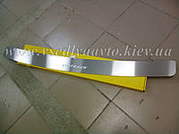 Накладка на бампер Subaru OUTBACK III с 2005-2009 гг. (NataNiko)
