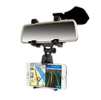 Держатель телефона, навигатора автомобильный на зеркало заднего вида , фото 1