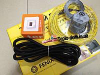 Тонкий обогревательный кабель для обогрева пола (комплект с цифровым термостатом готовый к монтажу) 2.7 м.кв.