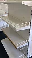 Стеллаж торговый торцевой для акционных товаров. Торговое оборудование WIKO Киев, фото 1