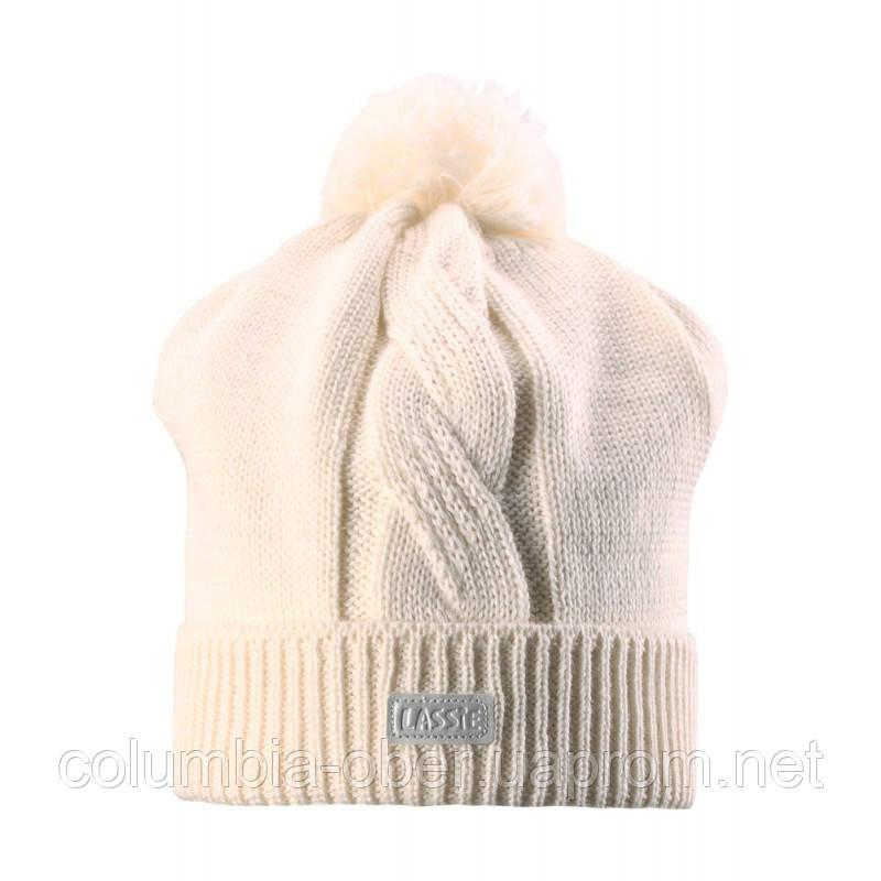 Зимняя шапка для девочки Lassie by Reima 728692 - 0110. Размер S, М и  L.