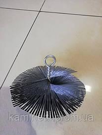 Ершик для чистки дымохода круглый ф 300 мм