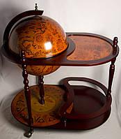 Глобус бар напольный со столиком d-42