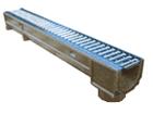 Лоток водоотводный DN100 ЛВ-10.14.07- полимерпесчаный