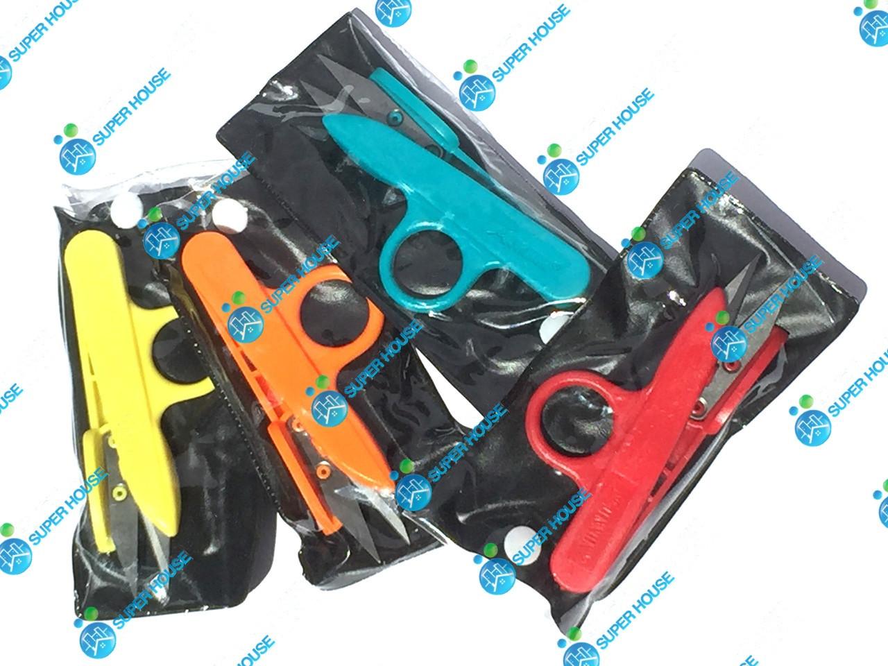 Щипцы, ножницы для обрезки ниток 125мм. Разноцветные.