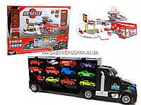 Детский игровой набор паркинг, контейнер-гараж Super truck P877-A, фото 1