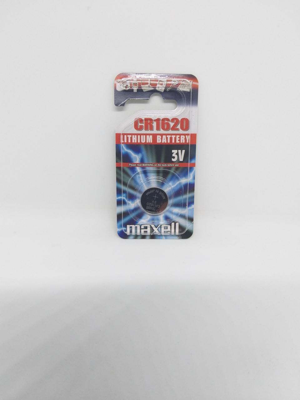 Часовая батарейка Maxell CR1620EU