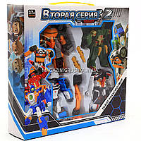 Игровой набор роботы тоботы «Tobot» 4в1 арт 503, фото 1