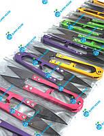 Щипцы, ножницы для обрезки ниток 110мм 100% металл 12 шт. Разноцветные, фото 1