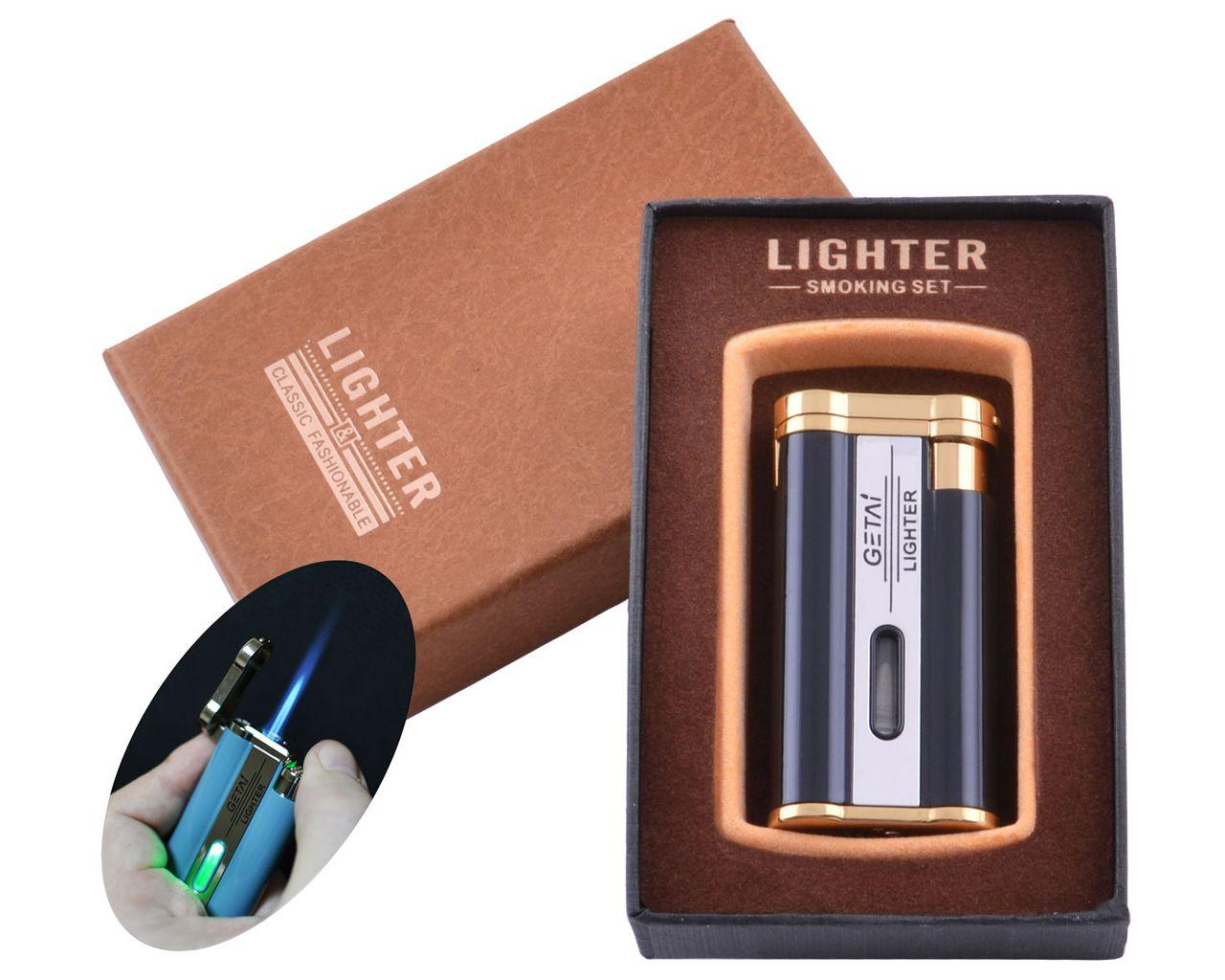 Зажигалка подарочная в коробочке GETLI XT-45 с подсветкой