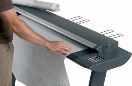 Цветное широкоформатное сканирование формата А1