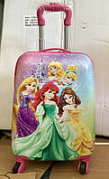 Детский чемодан на колесах Принцессы