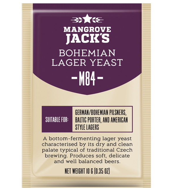 Дрожжи Mangrove Jack's Bohemian Lager M84
