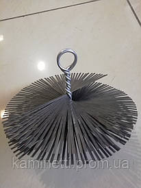 Ершик для чистки дымохода круглый ф 200 мм