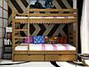 Ліжко Трансформер-1, дерев'яна