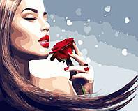 Художественный творческий набор, картина по номерам Аромат розы, 50x40 см, «Art Story» (AS0449), фото 1