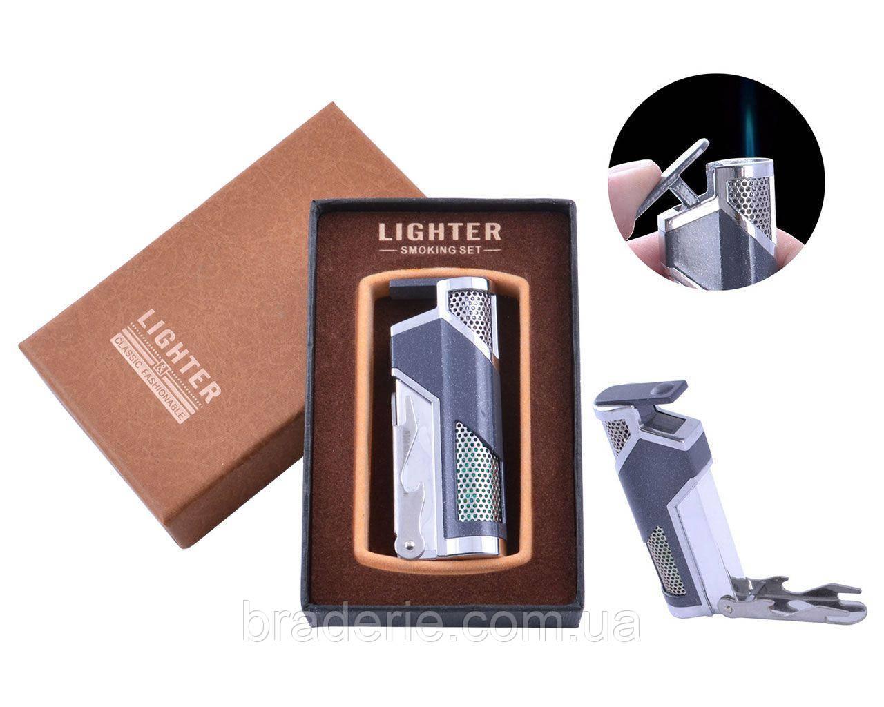 Зажигалка подарочная в коробочке LIGHTER XT-53 с открывалкой