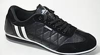 Кроссовки мужские черные, фото 1