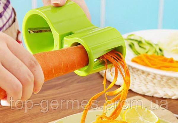 Спиральная овощерезка 3/1+точилка для ножей
