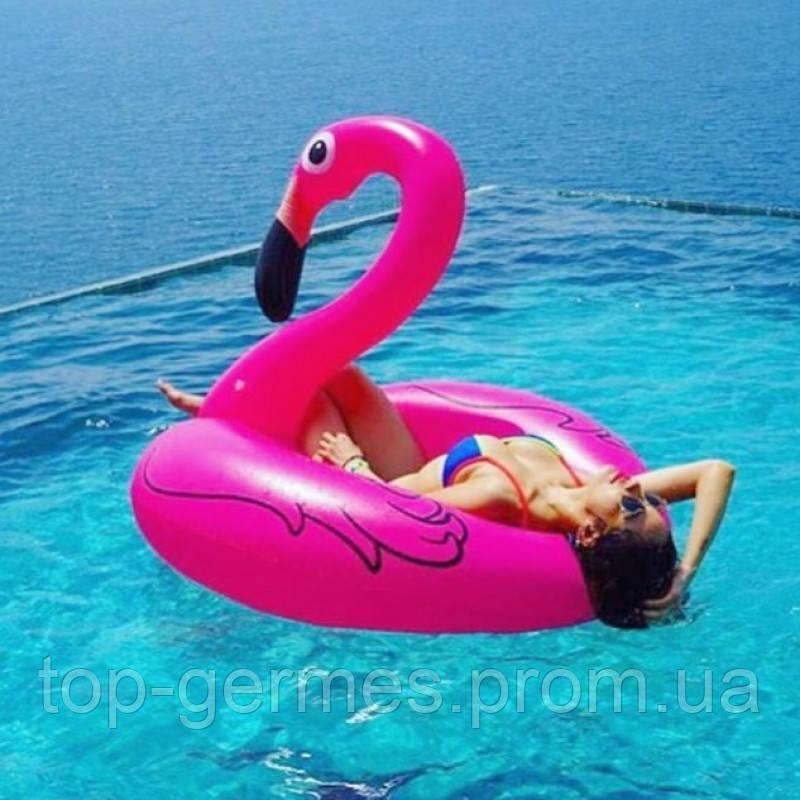 Надувной круг Розовый Фламинго