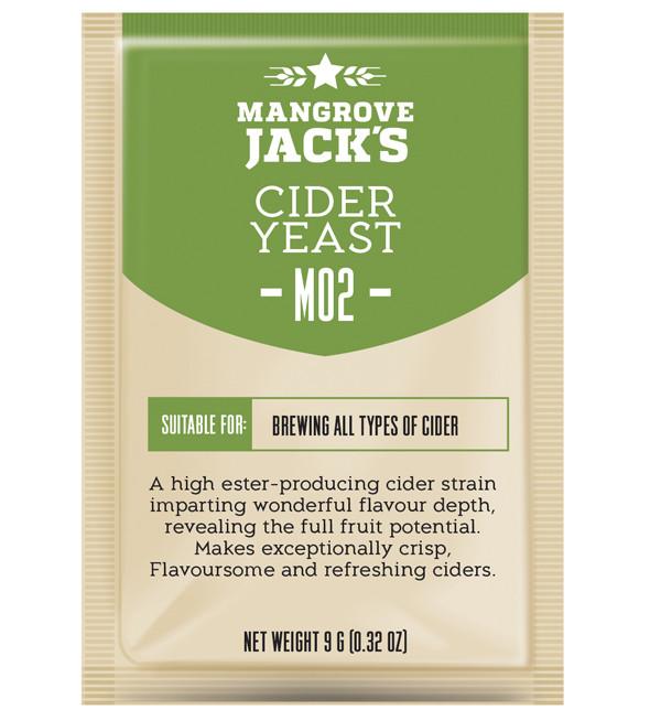 Дрожжи для сидра Mangrove Jack's Cider Yast M02
