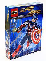 Конструктор Super Heroes «Капитан Америка» 319-2