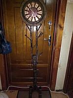 Шикарные напольные часы ковка, фото 1