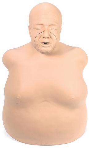 Манекен тучного пожилого человека «Fat Old Fred».