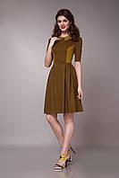 Платье женское с воротничком