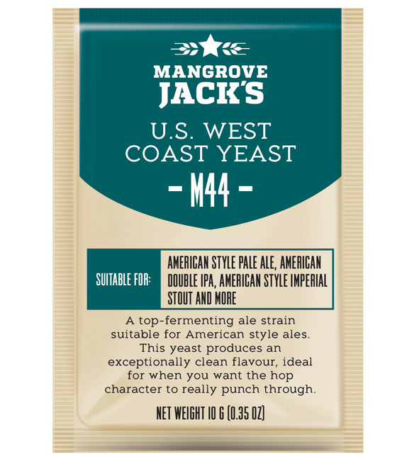 Дрожжи Mangrove Jack's US West Coast Yeast M44