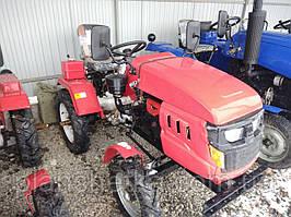 Трактор DW 160LXL 16 л.с.+ плавающая фреза 100 см.