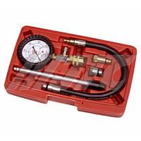Компрессометр для бензиновых двигателей со сменными адаптерами
