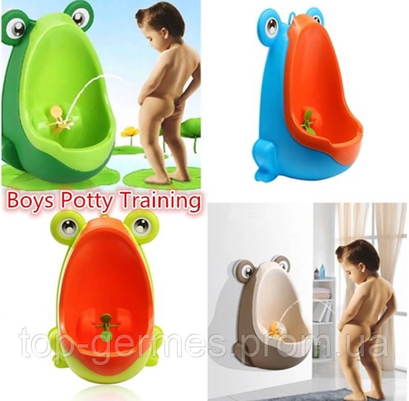 Детский писсуар,унитаз,туалет лягушка