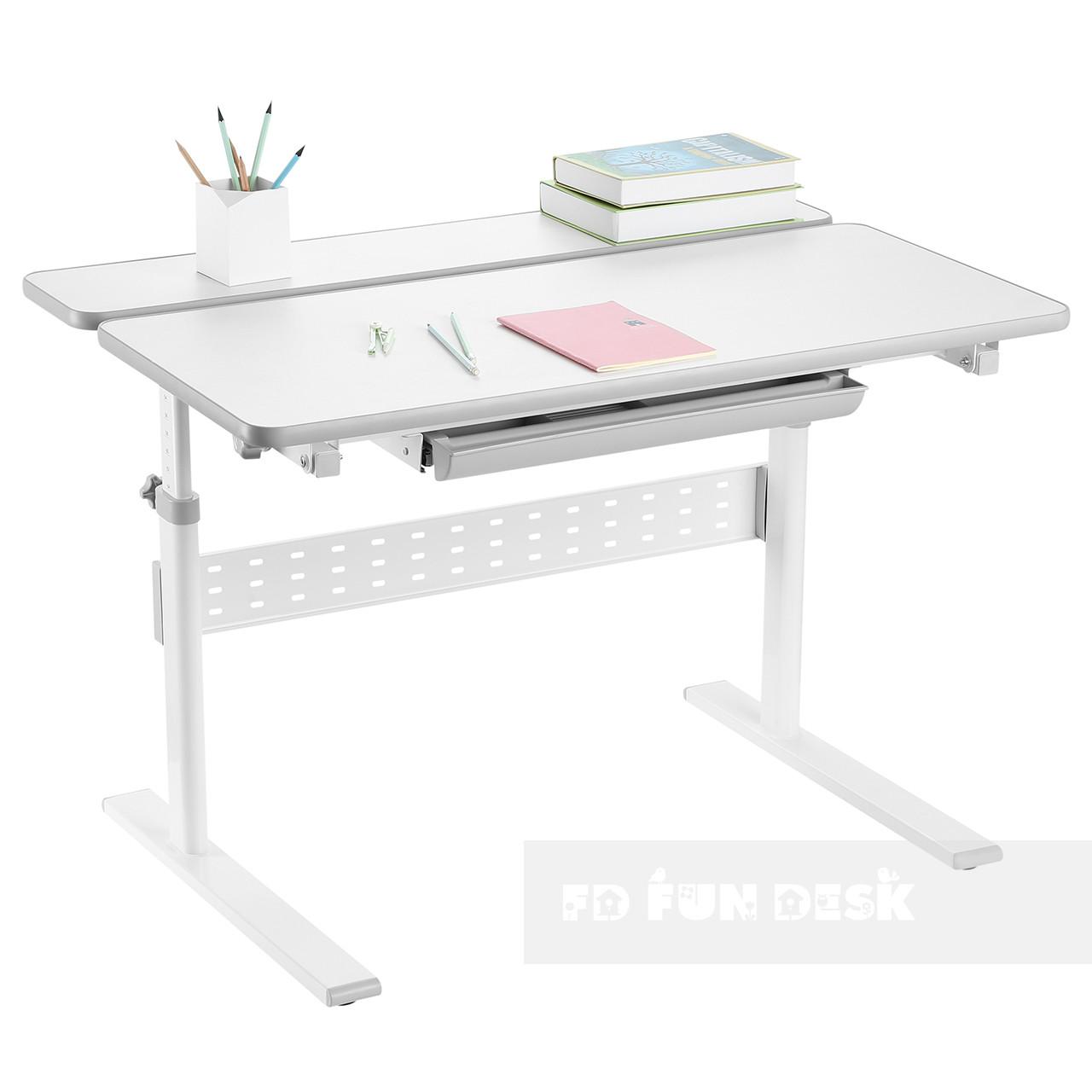 Парта-трансформер для школьника Fundesk Colore Grey