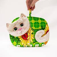 Прихватка кот