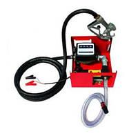 Насос топливоперекачивающий счетчик+пистолет 50л/мин.  (Арт. DK8020-24V)