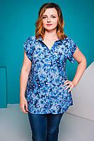 Женская блуза Крыло. Размеры 52-58
