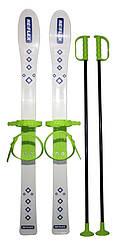 Набор лыжный детский RE:FLEX 90 см (лыжи с палками) белый арт.256104