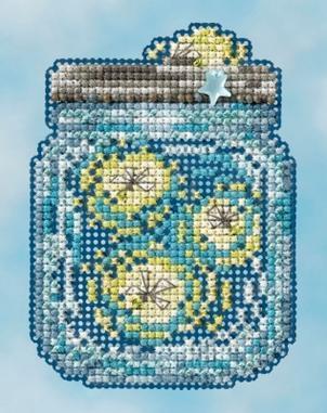 Набор для вышивки крестиком Fireflies Mill Hill