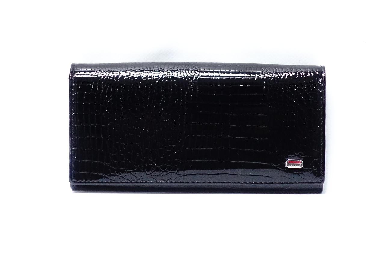 a8d3fb7e4d17 Кожаный кошелек Balisa на магните 826-4 black