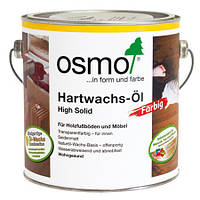 Цветное паркетное масло с твёрдым воском Osmo Hartwachs-Öl Farbig 3092 золото 5 мл