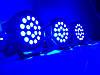Сценическое освещение 18x1WRGB 3in1 DMX Светодиодные прожекторы Dzyga, фото 2